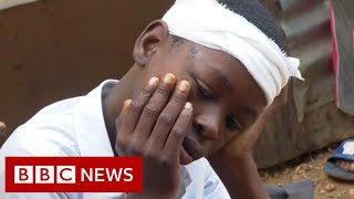 """Haiti """"on its knees"""" after earthquake causes more than 2,000 deaths - BBC News"""