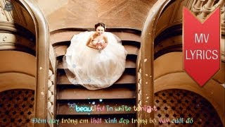 Beautiful In White | Shane Filan | Lyrics [Kara + Vietsub HD]