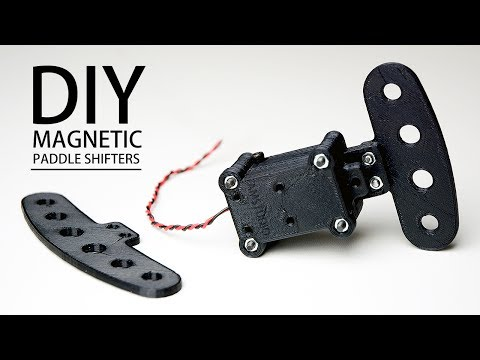 MAKE THESE MAGNETIC PADDLE SHIFTERS DIY SIM RACING