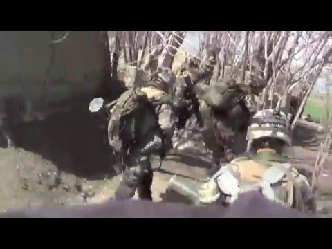 Heavy firefight French Army vs Talibans Afghanistan 2010