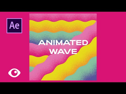 Easy & Quick Animated Wave - Adobe After Effects Tutorial