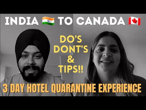 Don't fly from India to Canada before watching her 3 Day Hotel Quarantine Experience! Avoid these!!