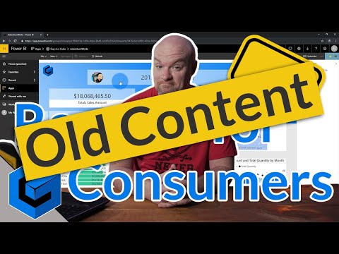 Power BI reports for consumers (end users) from YouTube · Duration:  11 minutes 8 seconds