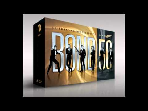 James Bond Complete Collection Blu-Ray Box...