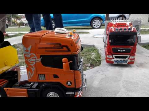 Rc Tractor Truck Malaysia group meeting on April 2017