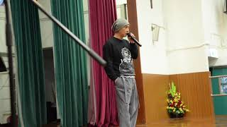 Part 1 2019.3.1    張衛健到高主教書院: 演講