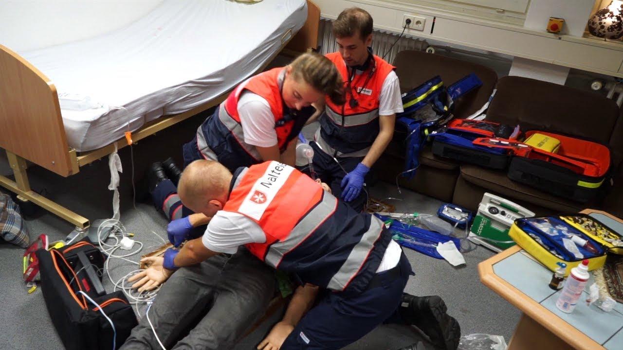 Den Notfall trainieren: Das Simulationszentrum der Malteser in Stuttgart
