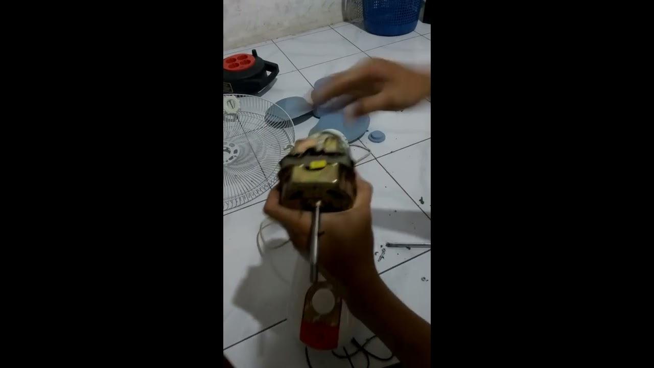 Cara Memperbaiki Kipas Angin Yang Berputar Pelan