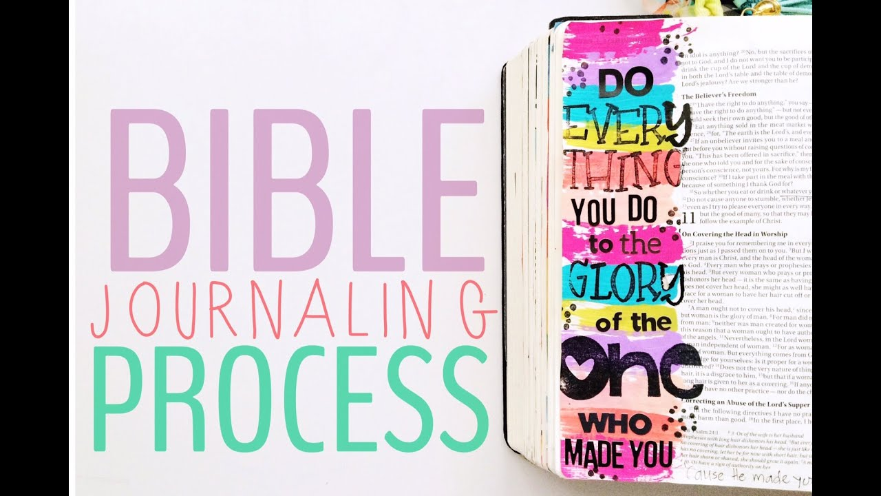 Bible Journaling: Do Everything