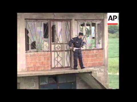 KOSOVO: ARMED ETHNIC ALBANIANS ATTACK SERB POLICE PATROL