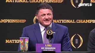 LSU hype video: How Ed Orgeron got Dwyane The Rock Johnson