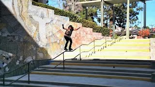 GNARLIEST 50 50 EVER!?! 7 Kink Rail - Maurice Jordan - Behind The Scenes