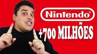 Nintendo Vendeu mais de 700 MILHÕES de Consoles!