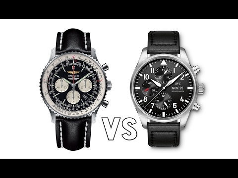 APPLES TO APPLES - Episode 3, IWC vs Breitling