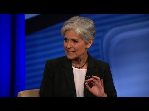 Stein: I'll have trouble sleeping if Trump, Clinton ...