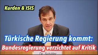 Kurden & ISIS: Keine Kritik vor Besuch der türkischen Regierung in Berlin