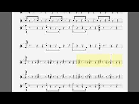 Drum metallica drum tabs : FUEL DRUM TAB - YouTube