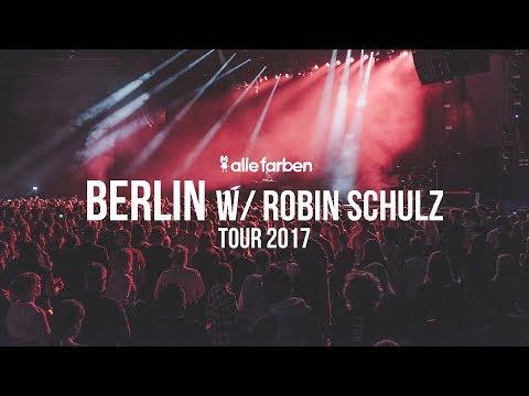 ROBIN SCHULZ  x BERLIN - ALLE FARBEN TOUR...