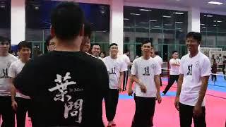 Wing Chun Vietnam Seminar-Chi Sau challenge (詠春越南交流研討會-黐手挑戰)