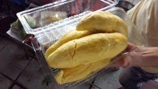 Delicious Durian Fruit At Cho Ben Thanh Saigon Vietnam 2014