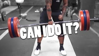 Quantum of Solace | Special guest(real world) | 1 Hand No Straps Deadlift