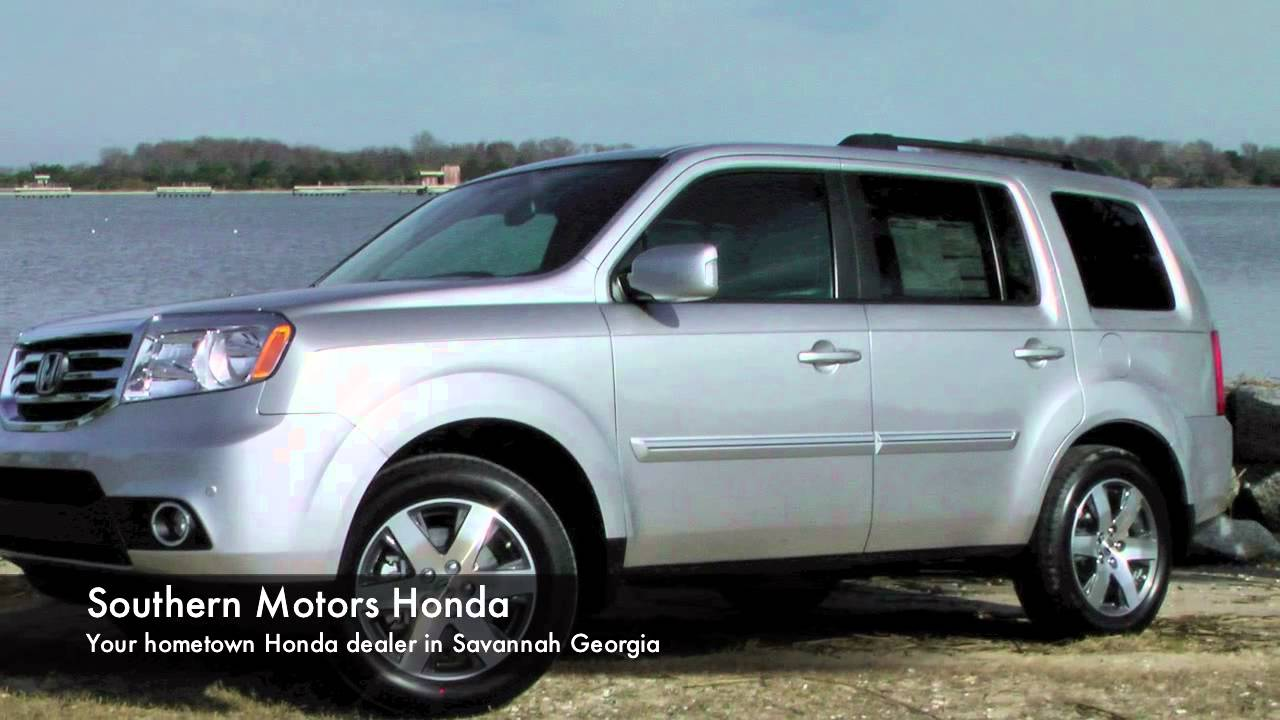 2013 honda pilot 0 60 spot southern motors honda youtube for Southern motors honda savannah ga