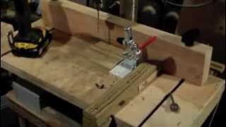 How To Make  A Drill Press Clamp For Wood