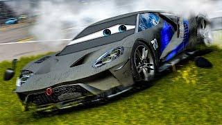 Jackson Storm Loses Control!   Forza Motorsport 7   Cars 3