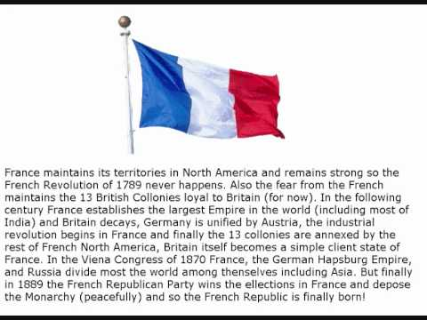 """Alternate History: """"France wins the 7 Years War"""""""