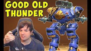 The Old THUNDER Inquisitor Having Fun - War Robots Mk2 Fun Gameplay WR