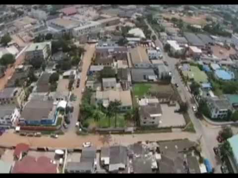 Penplusbytes flies Drone @2ND TECH SALON @New media hub in Accra.