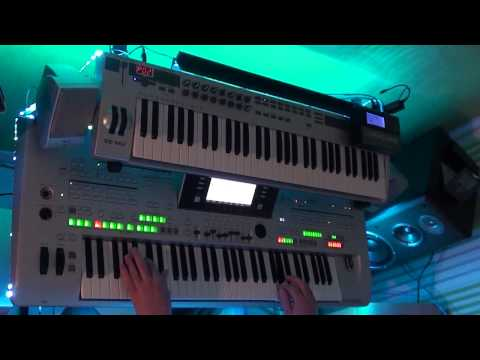 keep me hanging on - kim wilde played with tyros 3 and vst plugins