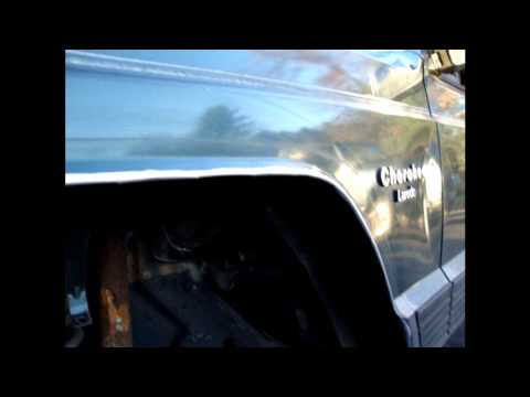 Fender Cut & Fold: Jeep Cherokee XJ