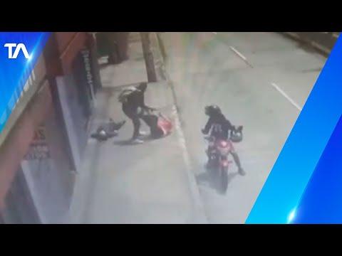 Cámaras de seguridad captaron el asesinato en el sur de Quito