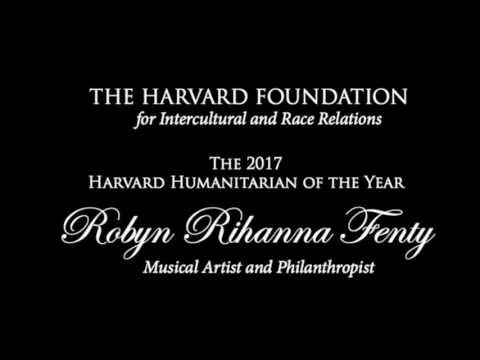 Robyn Rihanna Fenty, Harvard Humanitarian of the Year Award Ceremony