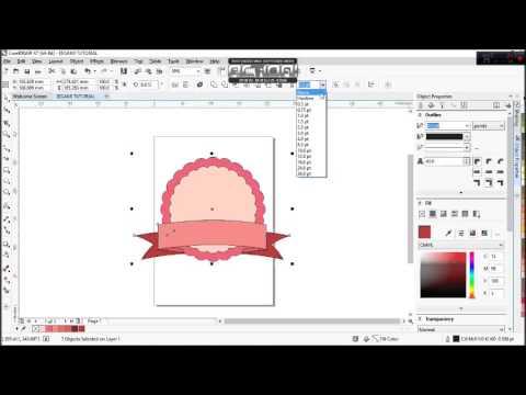 Tutorial CorelDraw Tips Desain Logo Mudah dan Cepat dengan aplikasi CorelDRAW. Dijelaskan secara det.