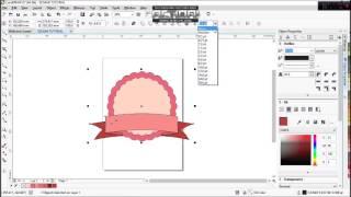 EEGAMI CORELDRAW TUTORIAL Cara Membuat Cute Badge Logo Sederhana