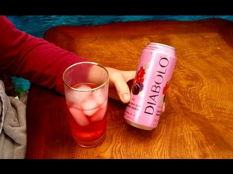 Diobolo French Soda Review, Info, Dragon Fruit Plum Flavor Over Ice, Vitamin Enriched ASMR Whispers