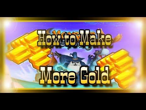 Monster Legends - How To Make More Gold - Gold Farming Guide