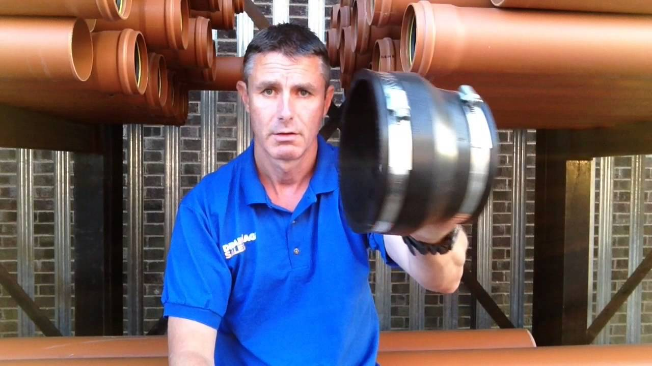 HOW TO: Connect PVC Drainage Pipe to Clay Pipes | Drainage Sales
