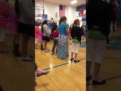 Taylorsville school singing