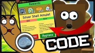 *NEW* CODE & SILVER STUMP SNAIL AMULET! | Roblox Bee Swarm Simulator