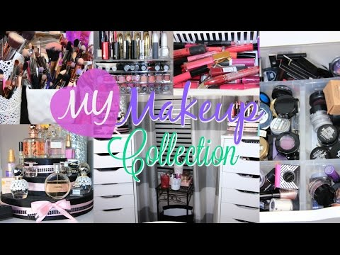 Makeup Collection & Storage I Beauty Room