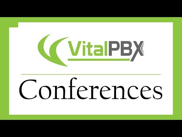 VitalPBX - Conferences