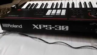 ROLAND XPS-30 FIRST LOOK PHYSICAL OVERVIEW BY VIVEK PANCHAL