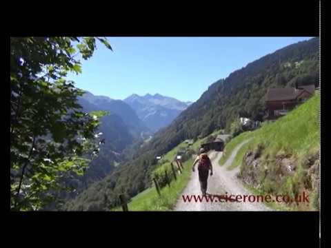 Alpine Pass Route Swiss Via Alpina 1