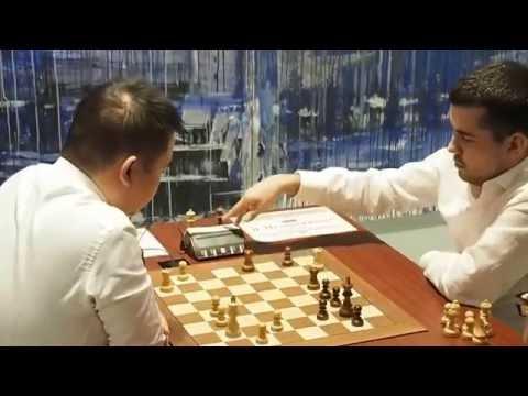 2016-09-25 GM Li Chao - GM Nepomniachtchi Moscow Tal Memorial Blitz