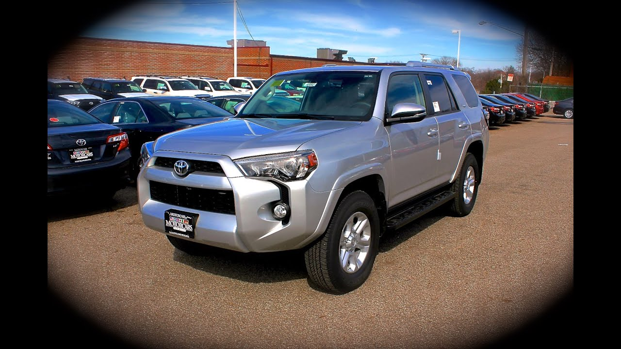 2014 toyota 4runner sr5 premium 4x4 start up, review, exhaust