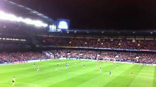 6.4.2011 Chelsea vs Man United at Stamford Bridge last 10 mins of the game