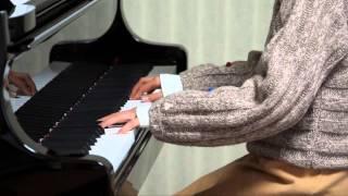 2013年12月23日 録画、 使用楽譜;月刊ピアノ2014年1月号.